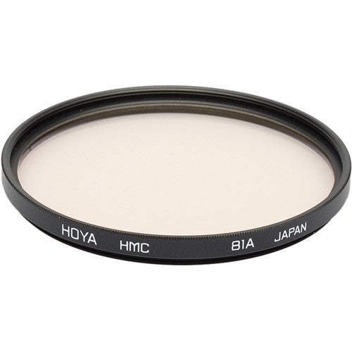 HOYA 81A Color Conversion (HMC) Multi-Coated Glass Filter [Multiple Size Options]