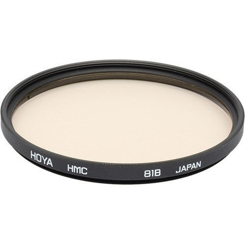 HOYA 81B Color Conversion (HMC) Multi-Coated Glass Filter [Multiple Size Options]