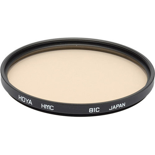 HOYA 81C Color Conversion (HMC) Multi-Coated Glass Filter [Multiple Size Options]
