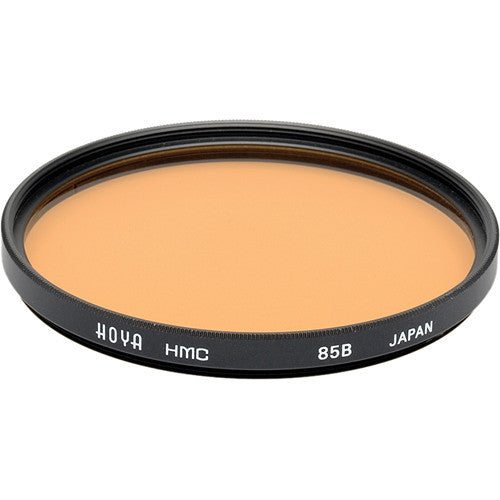 HOYA 85B Color Conversion HMC Glass Filter [Multiple Size Options]