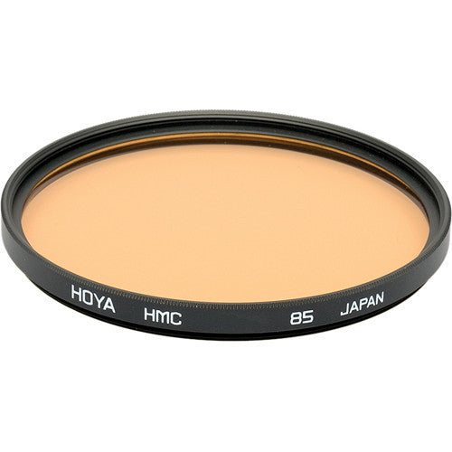 HOYA 85A Color Conversion HMC Glass Filter [Multiple Size Options]