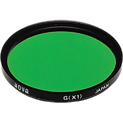 Hoya Green X1 Multi-Coated Glass Filter [Multiple Size Options]