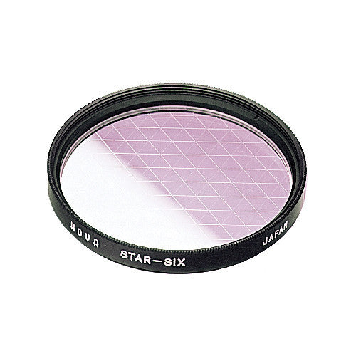 HOYA 6 Point Star Effect Glass Filter [Multiple Size Options]
