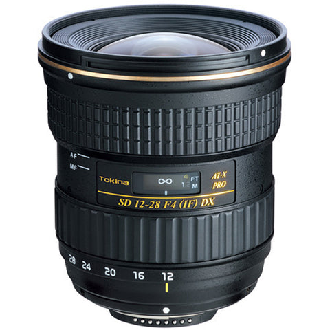 Tokina 12-28mm f4 DX Wide Zoom Lens [Two Mount Options]