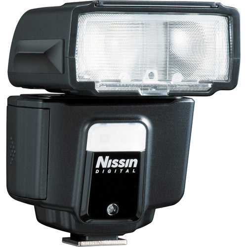 Nissin i40 Compact Speedlite for Sony Cameras with Multi Interface Shoe
