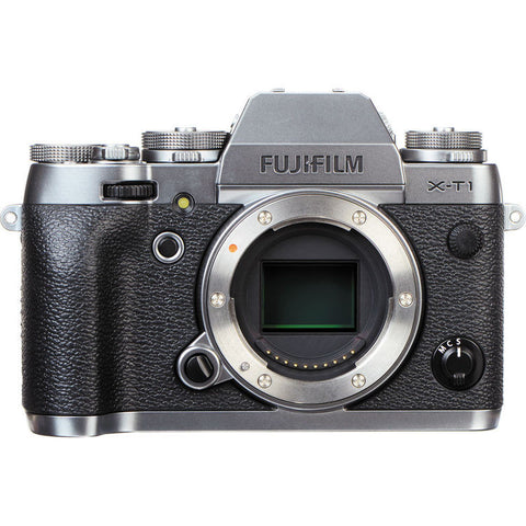 Fujifilm X-T1 Mirrorless Digital Camera (Silver)