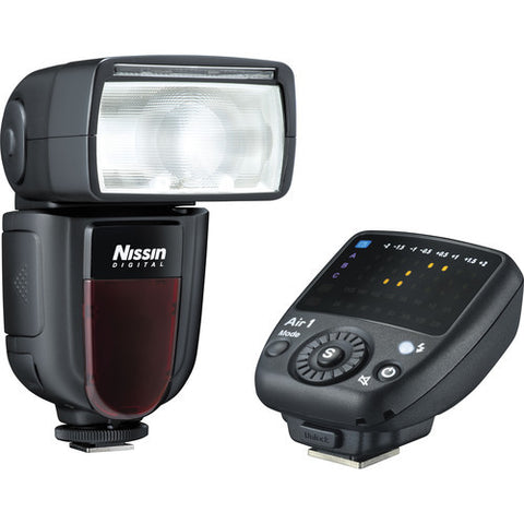 Nissin Di700A Flash Kit with Air 1 Commander Flash [Multiple Camera Mount Options]