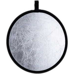 "Phottix 2-in-1 Collapsible Reflector 12"" (White/ Silver)"