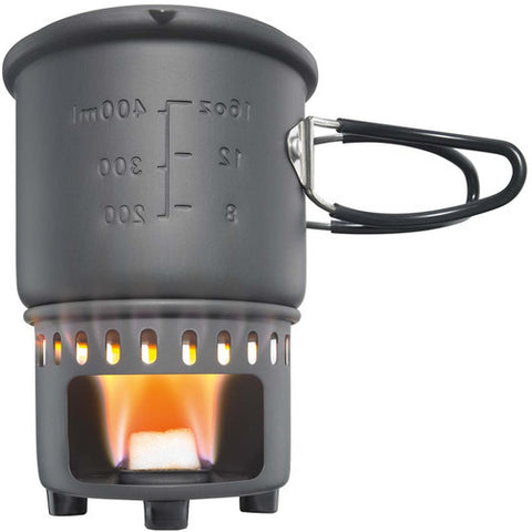 Esbit Solid Fuel Stove and Camp Cookset