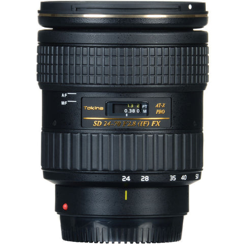 Tokina 24-70mm F2.8 PRO FX Lens [Two Mount Options]
