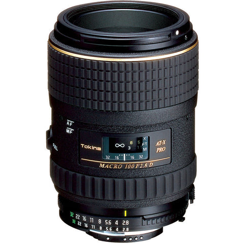 Tokina 100mm f2.8 Macro Lens [Two Mount Options]
