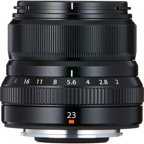 Fujifilm XF 23mm f/2 R WR Lens [Two Color Options]