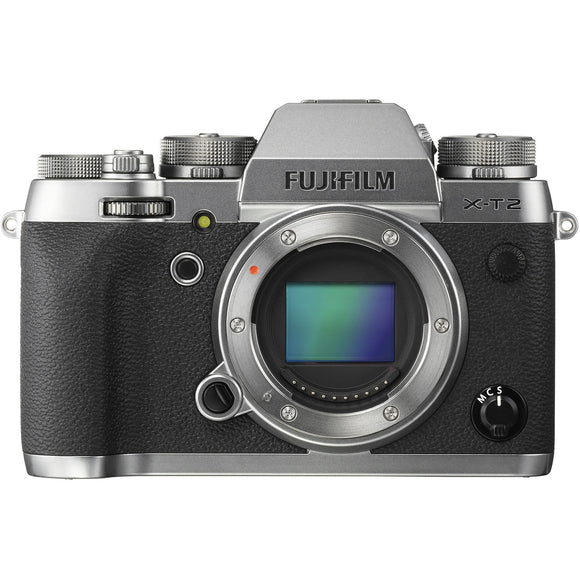 Fujifilm X-T2 Mirrorless Digital Camera [Two Color Options]