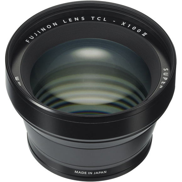 Fujifilm TCL-X100 II Tele Conversion Lens [Two Color Options]