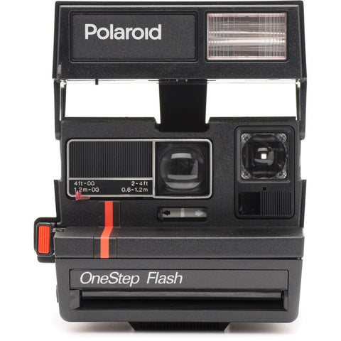 Polaroid Originals 600 Red Stripe Vintage Instant Film Camera