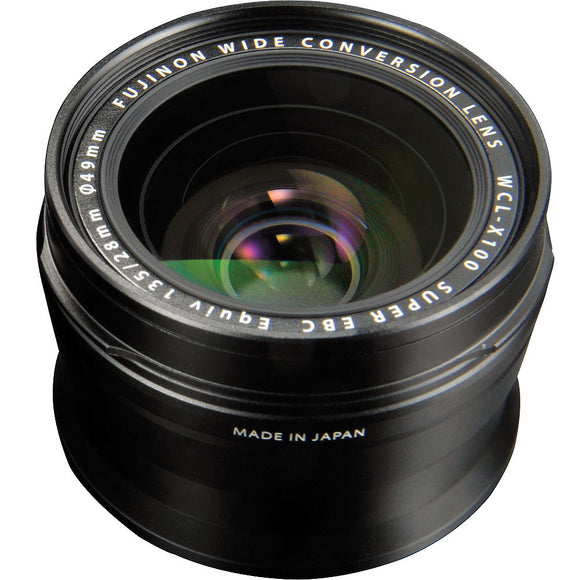 Fujifilm WCL-X100 Wide Conversion Lens [Two Color Options]