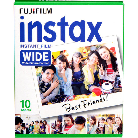 Fujifilm instax Wide Color Film (10 Pack)