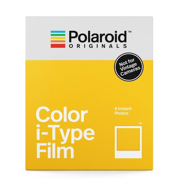 Polaroid Color Film for i-Type Cameras (8 Exposures)