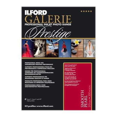 Ilford Galerie Prestige Smooth Pearl 4x6 Inches [100 Sheet Pack]