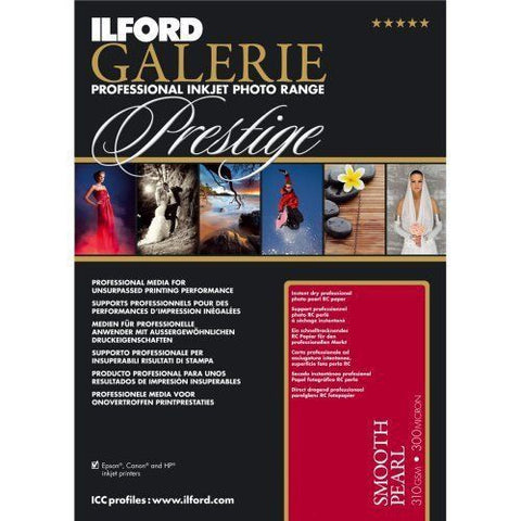 "Ilford Galerie Prestige Smooth Pearl 13x19"" 310gsm [25 Sheet Pack]"