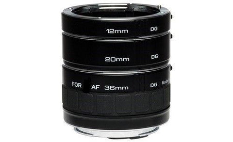 Kenko Automatic Extension Tube Set DG for Nikon Digital & Film SLR Cameras