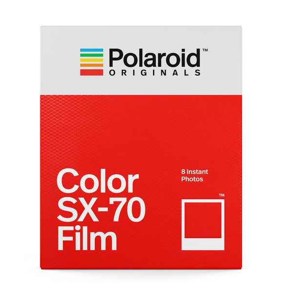 Polaroid Color Film for SX-70 Camera (8 Exposures)