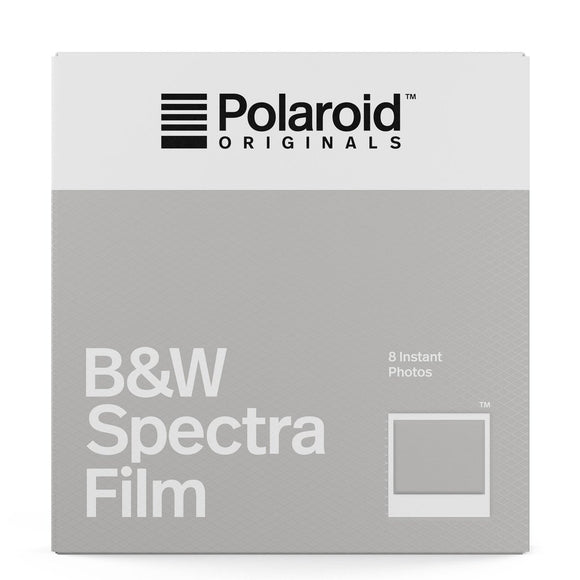 Polaroid Black & White Film for Spectra/Image Cameras (8 Exposures)