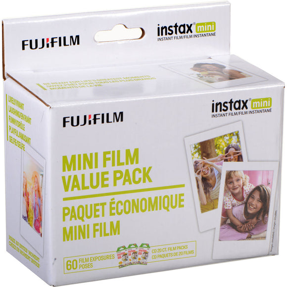 Fujifilm instax mini Instant Color Film (60 Pack)