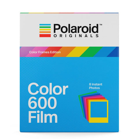 Polaroid Color Film for 600 and i-Type Cameras with Colored Frames (8 Exposures)