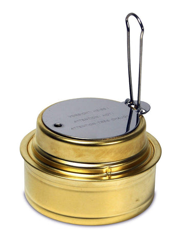 Esbit Brass Alcohol Burner Camping Stove