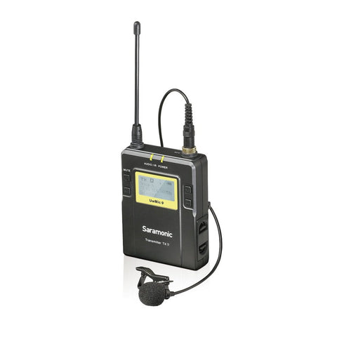 Saramonic SR-TX9 96-Channel Bodypack Transmitter Unit with Lavalier Microphone