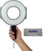 F&V R-300 LED Ring Light with L-Bracket Kit with JZS Cleaning Cloth