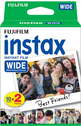 Fuji Instax Wide Color Film (20 Pack)