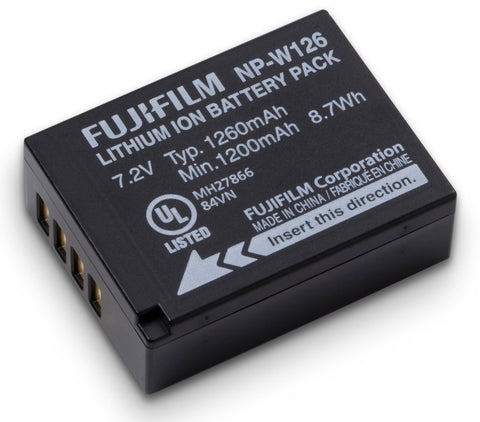 Fujifilm NP-W126 Lithium Ion Rechargeable Battery