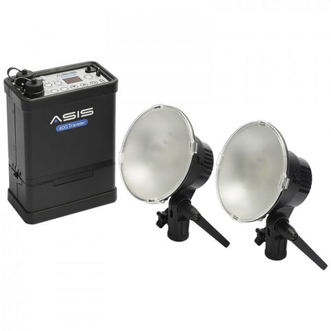 Asis 400 Traveler 2-Light and Li-Ion Battery Kit