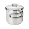 Esbit Stainless Steel Cookset for Solid Fuel