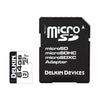 Delkin microSDHC 660X UHS-I (U3) Memory Card with SD Adapter [Two Capacity Options]