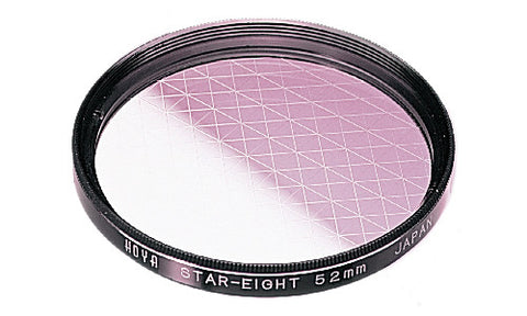 HOYA 8 Point Star Effect Glass Filter [Multiple Size Options]