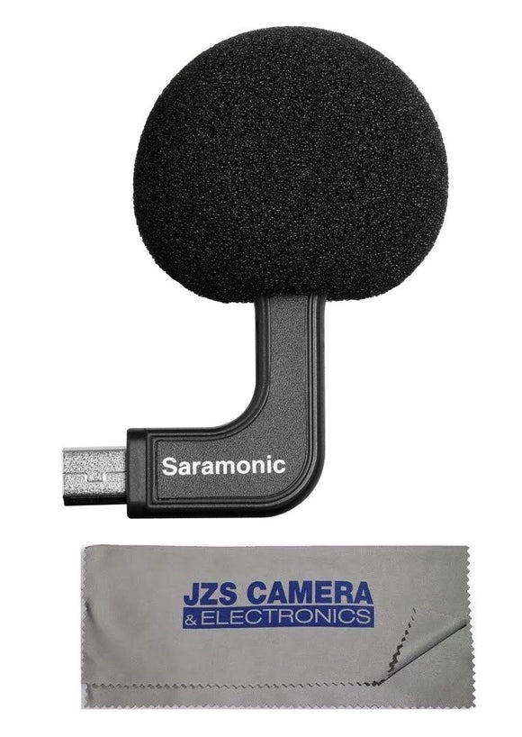 Audio For Video Saramonic Sr-gmc1 Output Connector Cable And Microfiber Cleaning Cloth