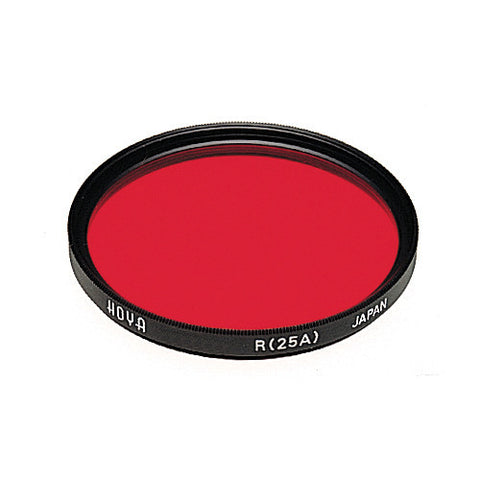Hoya Red 25A Multi-Coated Glass Filter [Multiple Size Options]