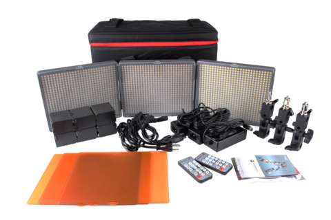 Aputure Amaran HR672S-WWS Daylight LED Light Kit -NEED INFO