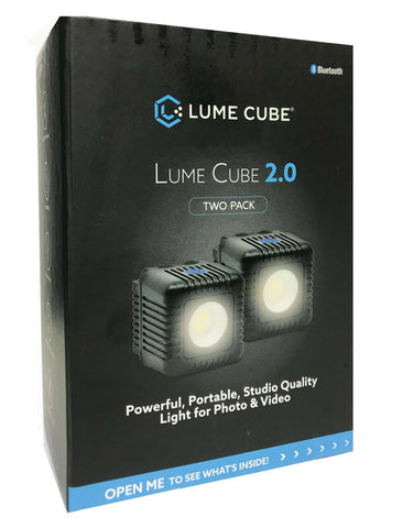 Lume Cube 2.0 LED Light (2-Pack)