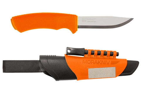 MoraKniv Bushcraft Orange Survival Knife