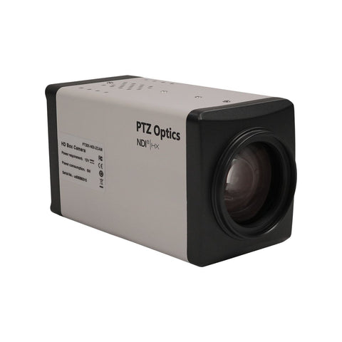 PTZ Optics ZCam 20X 2.07MP 1080p Full HD Box Camera, 20X Optical Zoom, 30fps, HD-SDI