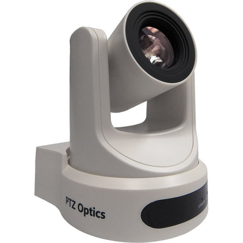 PTZ Optics 30x Optical Zoom Broadcast & Conference Camera HDMI 3G-SDI IP Streaming CVBS (White)