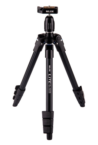 SLIK LITE AL-420S Travel Tripod with LED Flashlight