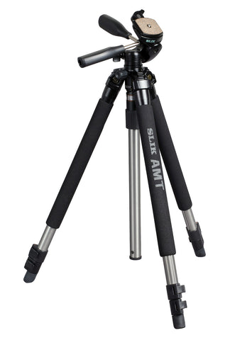 SLIK Pro 330DX Tripod with 3-Way Pan Head [Two Color Options]
