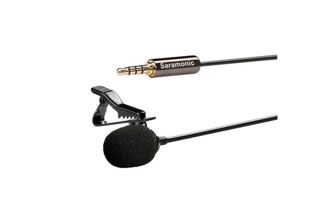 Saramonic SR-LMX1 Lavalier Microphone for Apple/Android Smartphones