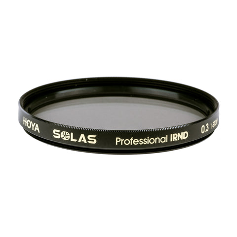 Hoya SOLAS Professional IRND 0.3 Filter [Multiple Size Options]