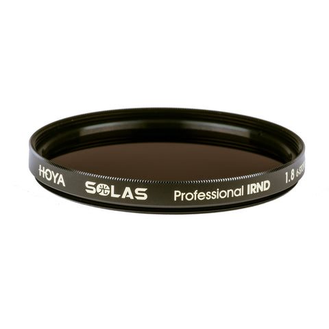 Hoya SOLAS Professional IRND 1.8 Filter [Multiple Size Options]